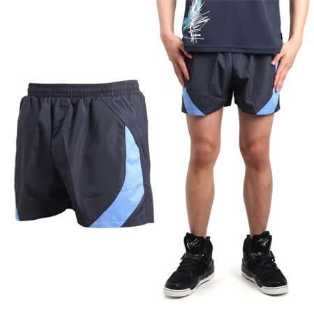 (男) SOFO 運動短褲-慢跑 路跑 休閒短褲 丈青水藍