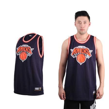 (女) NBA 紐約尼克-美國職籃籃球球衣-運動背心 NEW YORK KNICKS 丈青橘