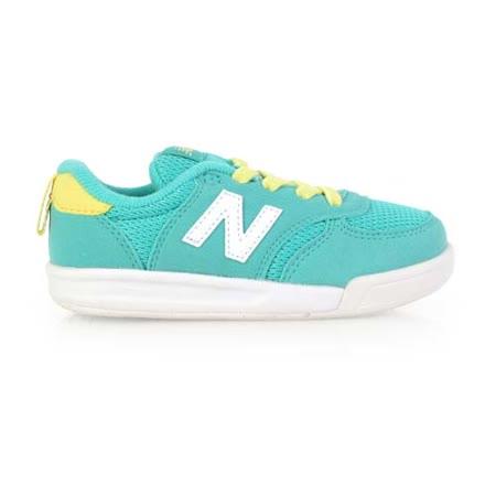 (童) NEWBALANCE KT 300系列 男女復古休閒鞋-NB N字鞋 鞋 湖水綠白