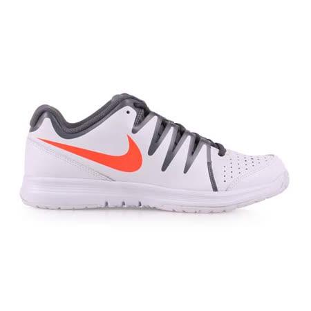 (男) NIKE VAPOR COURT 網球鞋 白橘灰 28