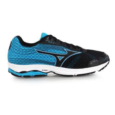 (男) MIZUNO WAVE SAYONARA 3 慢跑鞋- 路跑 美津濃 黑藍