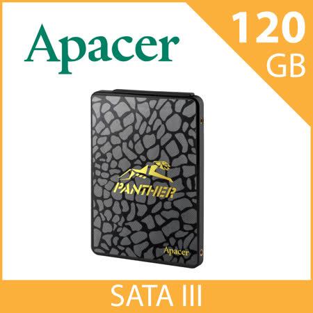 Apacer 宇瞻 AS340 新一代SATA III介面   120GB 外接式固態硬碟