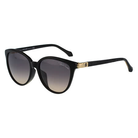 Roberto Cavalli 蛇紋 太陽眼鏡(黑色)