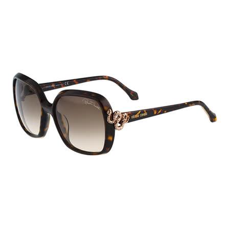 Roberto Cavalli 方框太陽眼鏡(琥珀色)