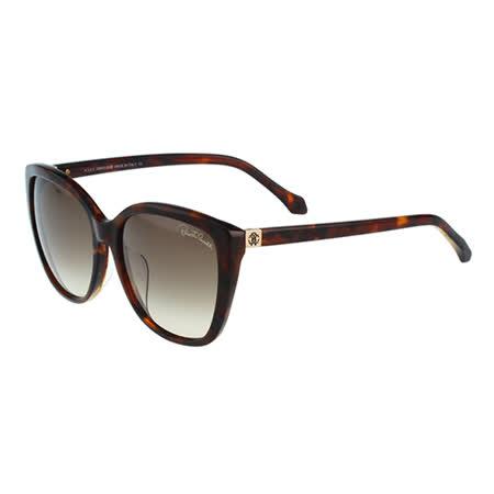 Roberto Cavalli 簡約太陽眼鏡(琥珀色)