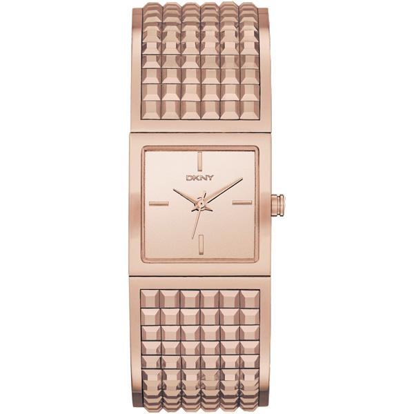 DKNY Bryant Park 女王派對手環腕錶~玫瑰金22mm NY2232