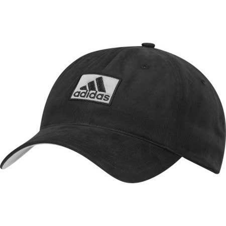 【Adidas】2016男時尚全棉高爾夫球黑色帽子【預購】