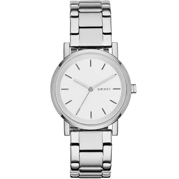 DKNY Soho 摩登城市大三針腕錶~銀34mm NY2342