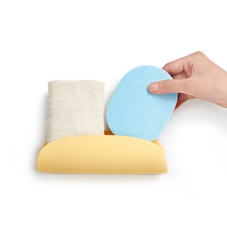 【inBOUND】廚房浴室用加長款海綿架/菜瓜布架(3款可選)