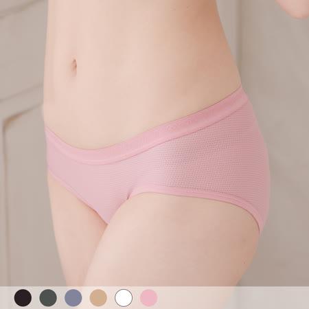 【玉如內褲】編織情人無痕褲。蕾絲。低腰。無痕。舒適。台灣製。※K028