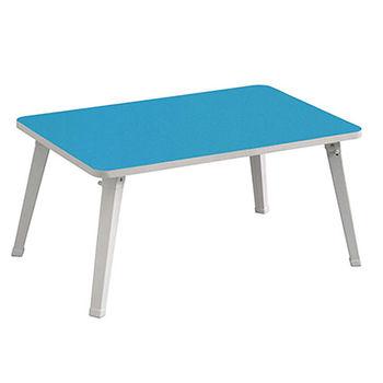 免組裝和室桌-藍(60*40*29.7cm)