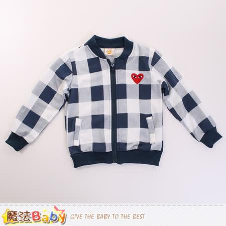 魔法Baby 外套 兒童薄款長袖外套 k60098