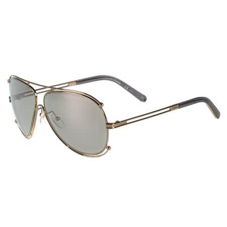 【真心勸敗】gohappy快樂購CHLOE太陽眼鏡 廣告款(玫瑰金)CE121S-744效果新光 三越 百貨