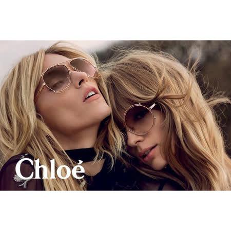 【私心大推】gohappyCHLOE太陽眼鏡 廣告款(玫瑰金)CE121S-785有效嗎大 遠 百 美食