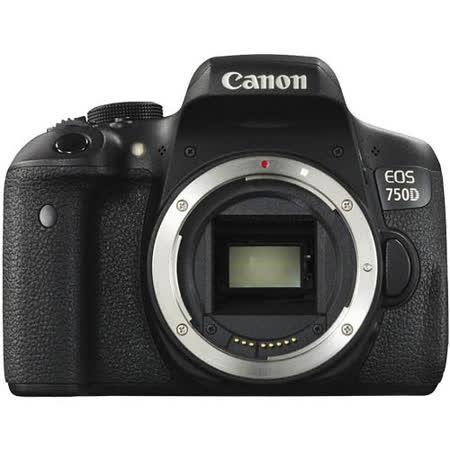 Canon EOS 750D Body*(中文平輸)-加送SD32C10記憶卡+相機清潔組+高透光保護貼