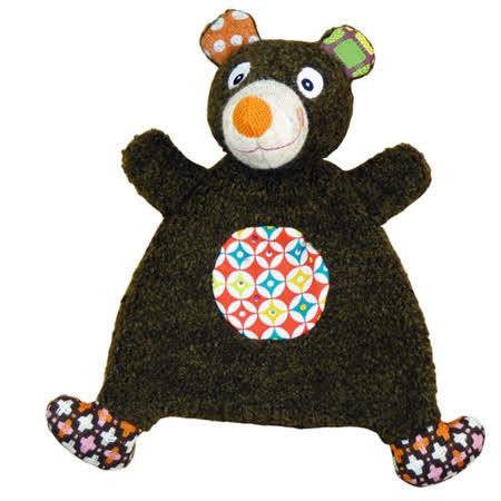 法國ebulobo熊抱抱玩偶安撫巾