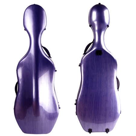 ★JYC Music★最新款CV-2000複合材料大提琴盒4/4/(藍色刷線)~僅重3.81kg 限量