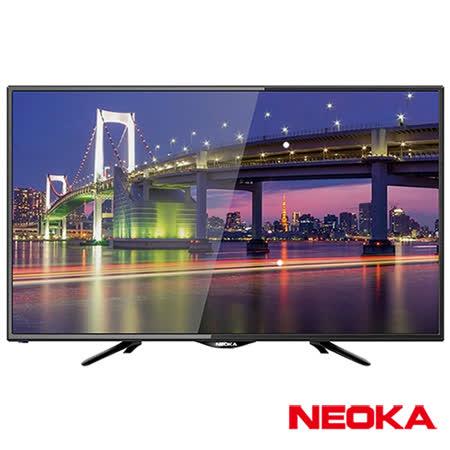 (福利品)NEOKA新禾 24吋 液晶顯示器+視訊盒24NS100