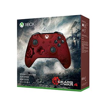 預購 Xbox One戰爭機器4限量版紅無線控制器
