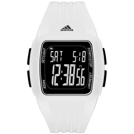 adidas 方型大面板電子腕錶-ADP3263