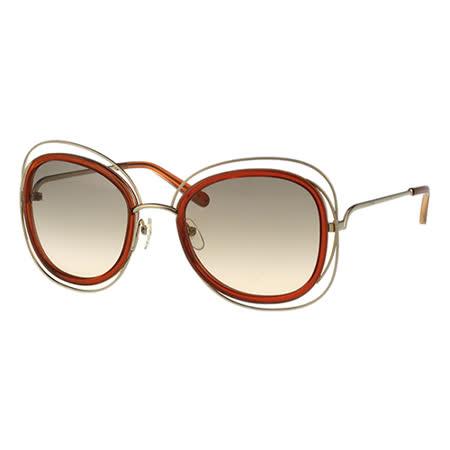 【部落客推薦】gohappy線上購物CHLOE太陽眼鏡 (金色+咖啡紅)CE123S-735好用嗎geant 愛 買