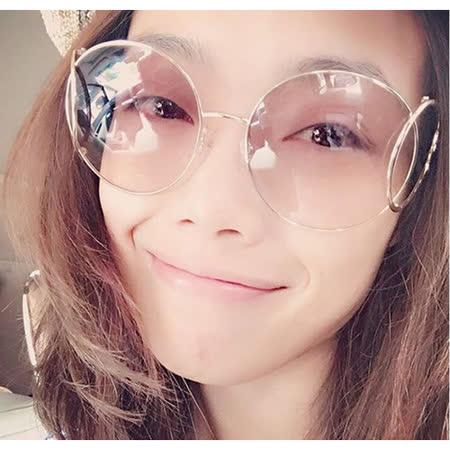 【勸敗】gohappy線上購物CHLOE太陽眼鏡 (金色+咖啡紅)CE123S-735開箱新竹 遠 百