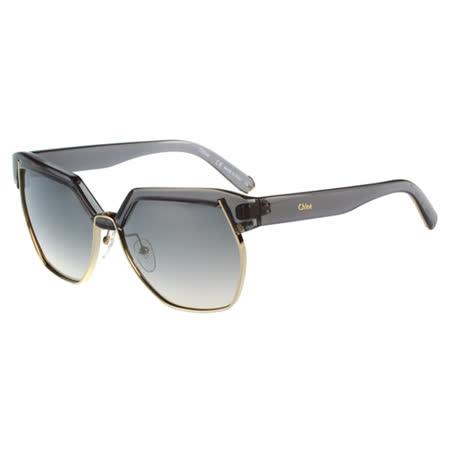【網購】gohappy 線上快樂購CHLOE太陽眼鏡 廣告款(灰色)CE665SA-036開箱新光 三越 西門 店