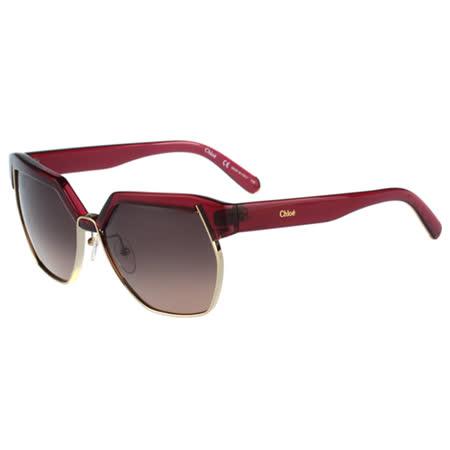 【部落客推薦】gohappy線上購物CHLOE太陽眼鏡 廣告款(紅色)CE665SA-603開箱快樂 購物 網 評價