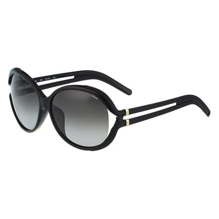 【勸敗】gohappy線上購物Chloe太陽眼鏡 圓面簍空(黑色)CE674SA-001心得大 遠 百 板橋 影 城