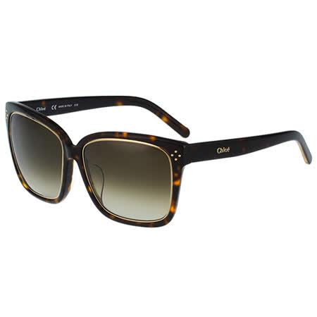 【好物分享】gohappy線上購物Chloe太陽眼鏡 中性造型(琥珀+金色)CE700SA-219去哪買遠東 百貨 公司 桃園 店