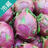 產銷履歷火龍果(白肉)2袋(850g±5%/袋)