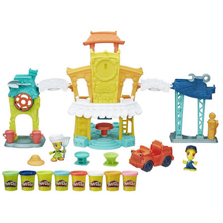 《Play - Doh 培樂多》城市系列-3合1城市遊戲組