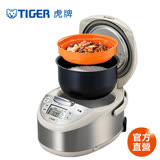 【TIGER 虎牌】日本製 6人份tacook微電腦多功能炊飯電子鍋(JAX-G10R)買就送料理專用食譜