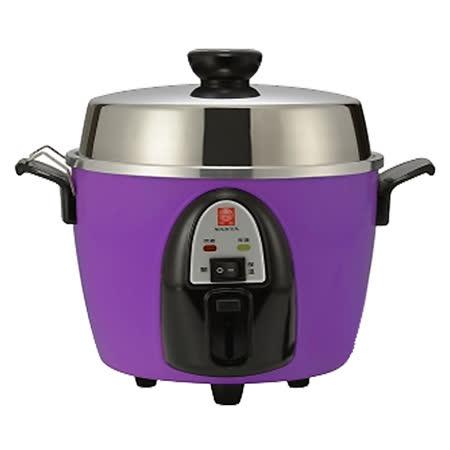 【南亞牌】6人份不鏽鋼電鍋(粉紫) EC-206