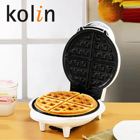 【團購4入】歌林Kolin-圓型鬆餅機 KT-LNW01
