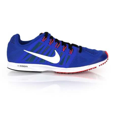 (男女) NIKE AIR ZOOM SPEED RACER 6 路跑鞋- 慢跑 藍螢光粉