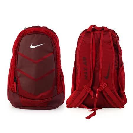 NIKE VAPOR SPEED 氣墊雙肩後背包 -登山 旅行 13吋筆電 紅暗紅 F