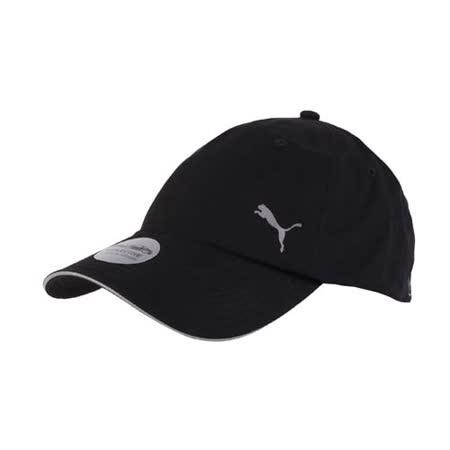 PUMA DRYCELL 慢跑系列棒球帽 -路跑 帽子 運動帽 鴨舌帽 防曬 黑 F