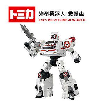 日本 TAKARA TOMY 變型機器人-救援車