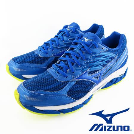 Mizuno WAVE PARADOX 3  男慢路跑鞋 J1GC161227 (藍)