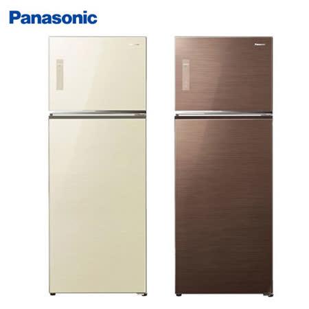 Panasonic 國際牌 485L ECO NAVI智慧節能變頻 電冰箱 NR-B487TG