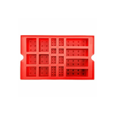 OXFORD 樂高積木DIY模具-紅