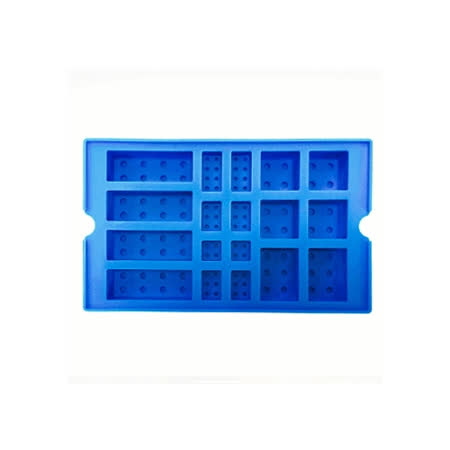 OXFORD 樂高積木DIY模具-藍