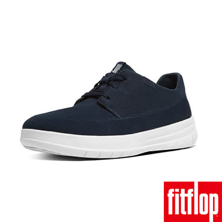 FitFlop™-(女款)SPORTY-POP SOFTY SNEAKERS-CANVAS-深藍