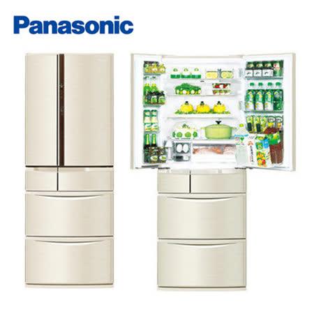 Panasonic 國際牌 505公升日本進口系列智慧節能六門 冰箱 NR-F510VT
