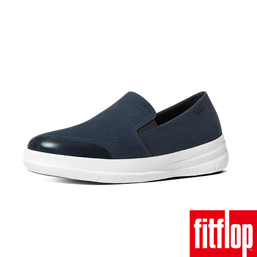 FitFlop™-(女款)SPORTY-POP SOFTY SNEAKER-CANVAS-深藍