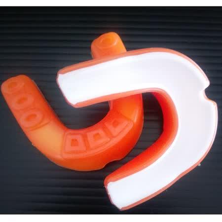 (周年感恩大回饋限量100組) 熱銷歐美單層雙色護牙套 橘色 (2入裝)