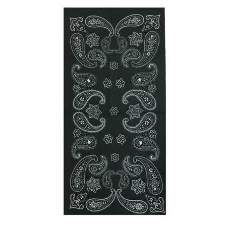 【A-Magic】多功能魔術頭巾-黑色變形蟲(HC013)