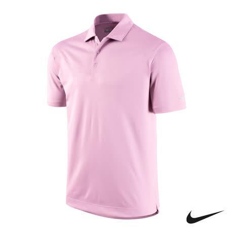 NIKE GOLF 運動休閒快速排汗素面短袖POLO衫(粉)636445-617