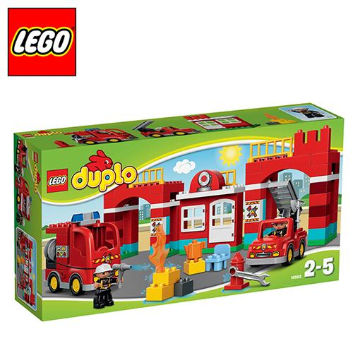 LEGO 得寶系列 L10593 消防局